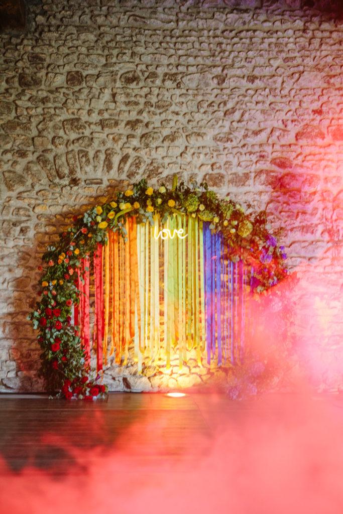 mariage rainbow d day weding planner lyon