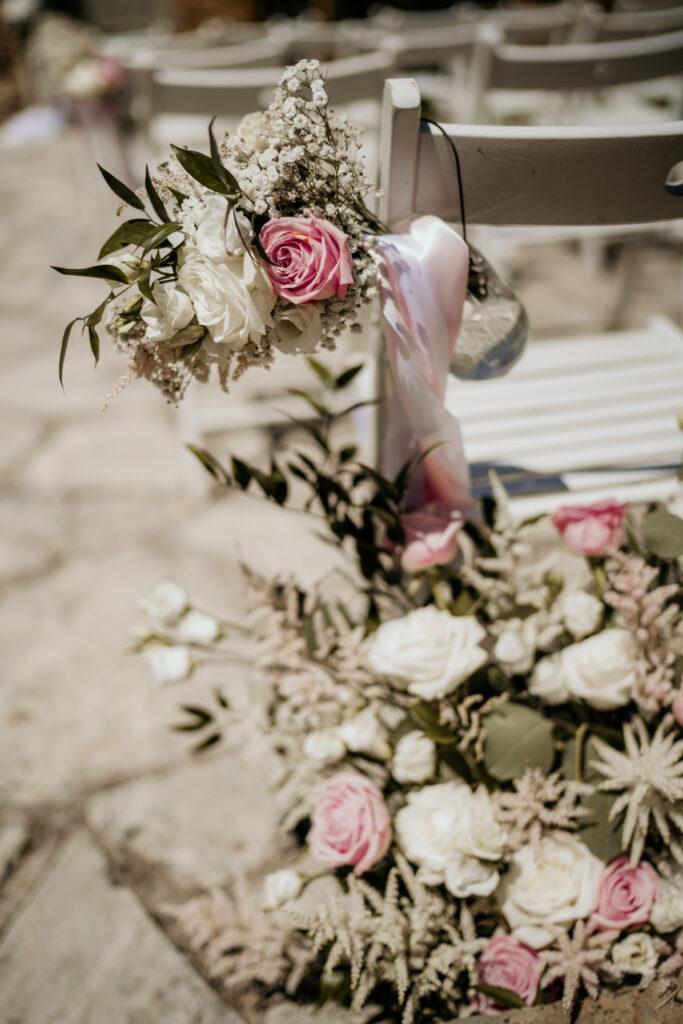 décoration ceremonie rose wedding planner d day organisation mariage