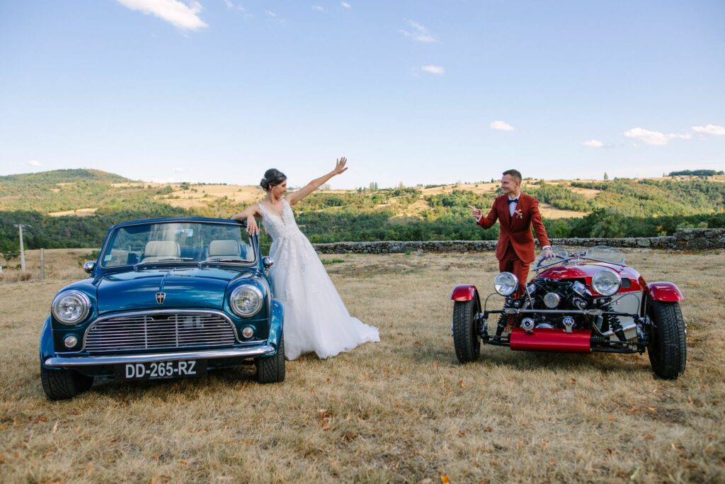 voiture des mariage wedding planner ardeche