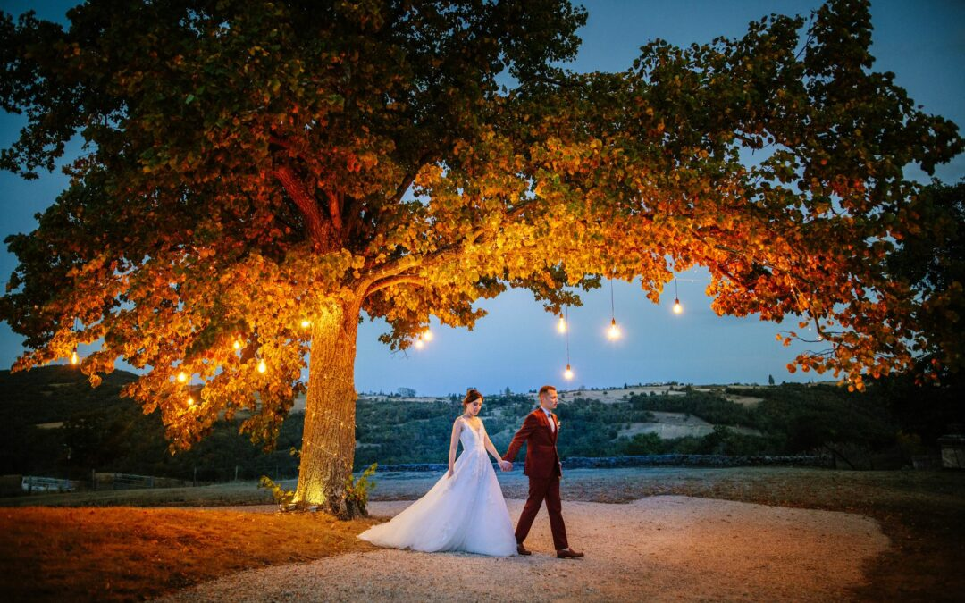 photo de mariage terracotta marsala wedding planner lyon