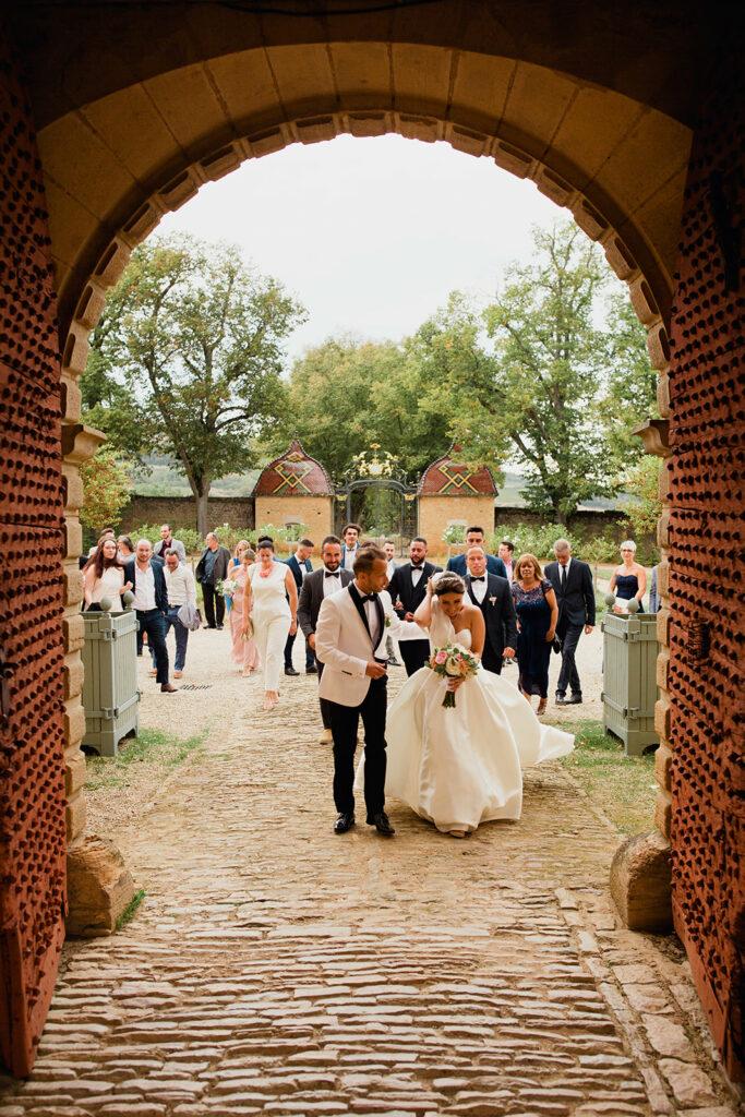 wedding planner bourgogne chateau vignoble