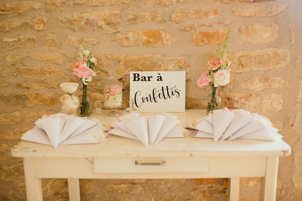 bar a confettis mariage lyon