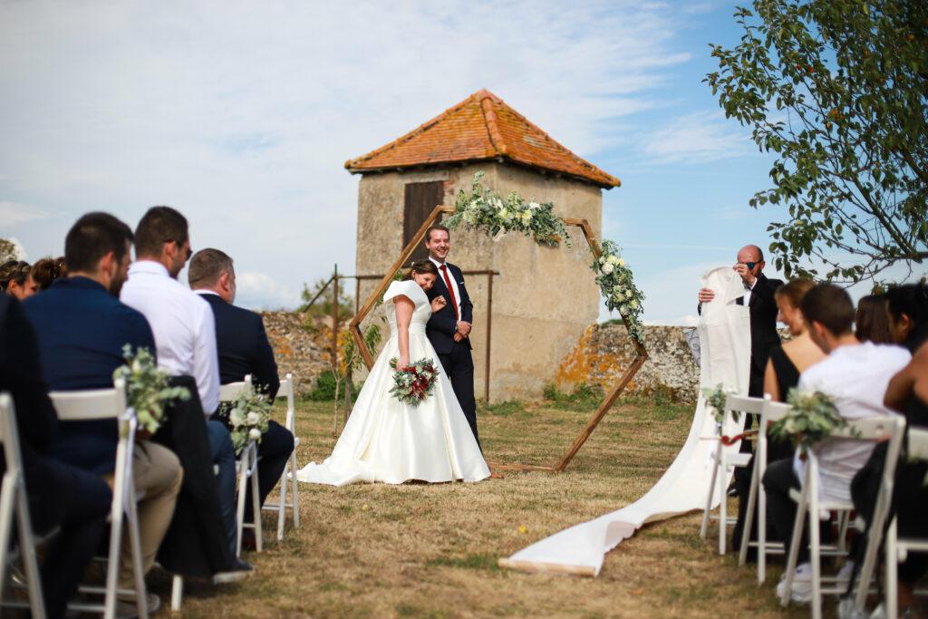 arche octogonale arche de cérémonie mariage organisation mariage lyon organisation mariage bourgogne