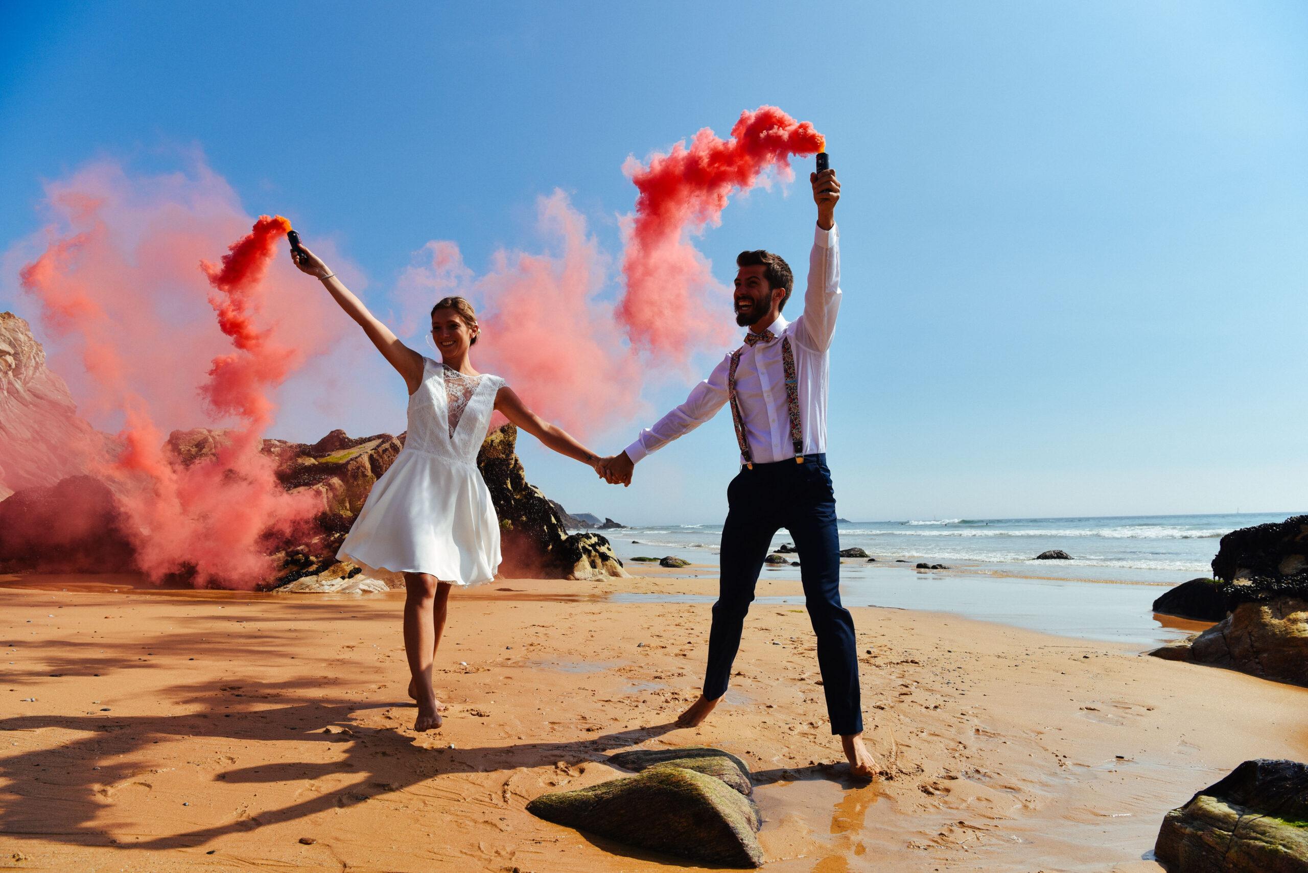 dday wedding planner organisation mariage france mariés bord de mer