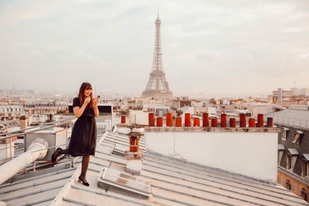 Toits de Paris, EVJF, bride to be