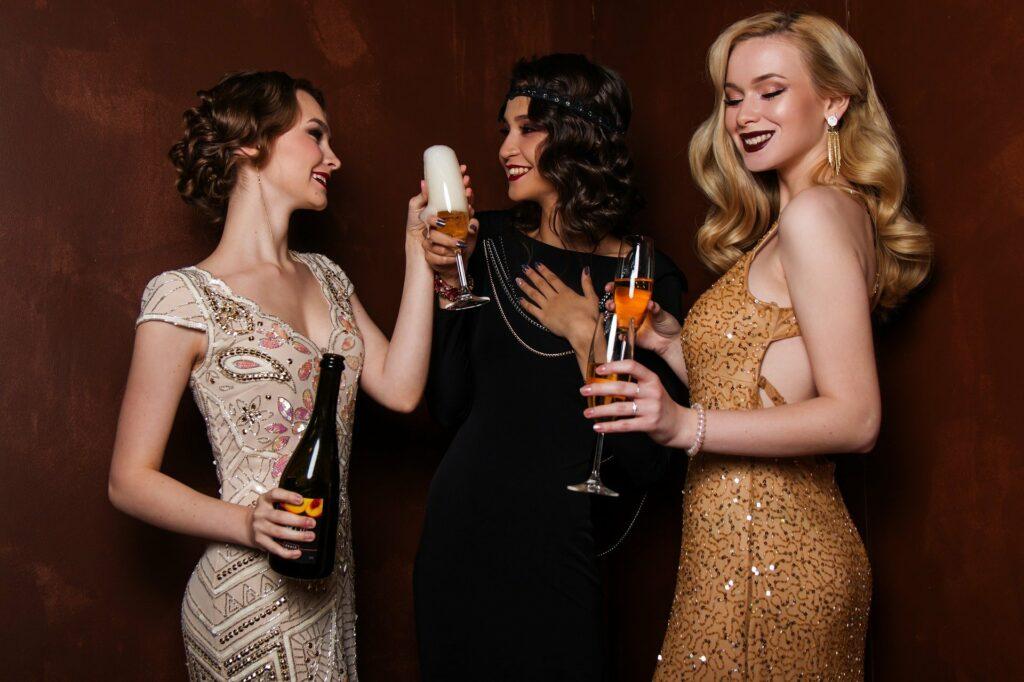 champagne, trinquer, evjf, bridetobe, friends, party