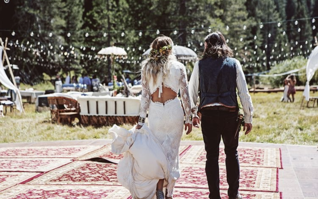 Mariage inspiration Coachella