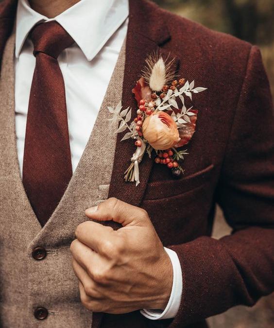Costume de marié en Auvergne