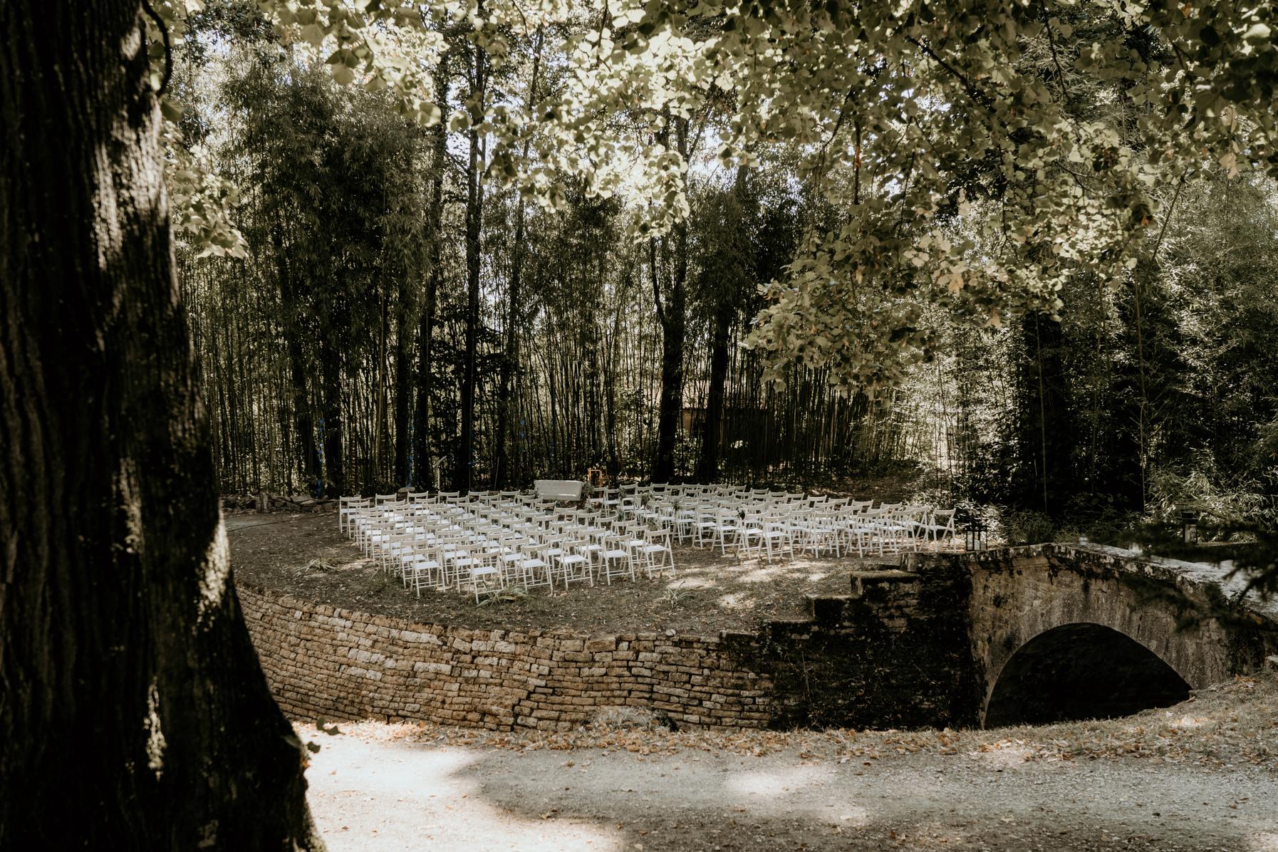 cérémonie laïque forêt