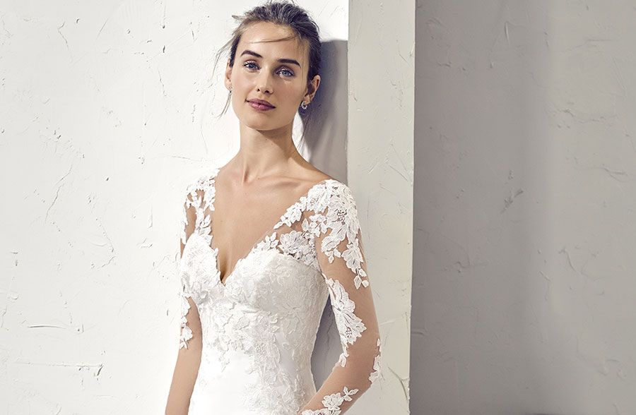 Manches robe mariée