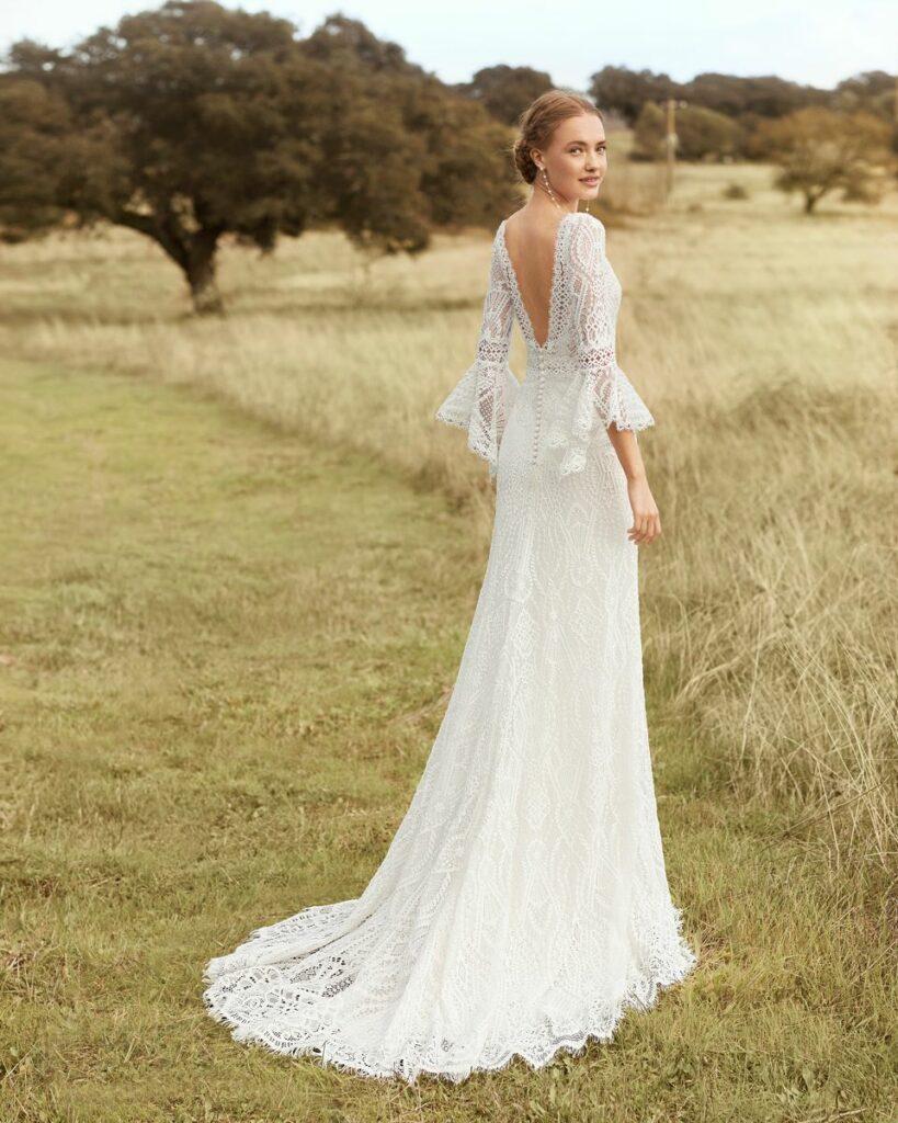 robe de mariée bohème en sarthe