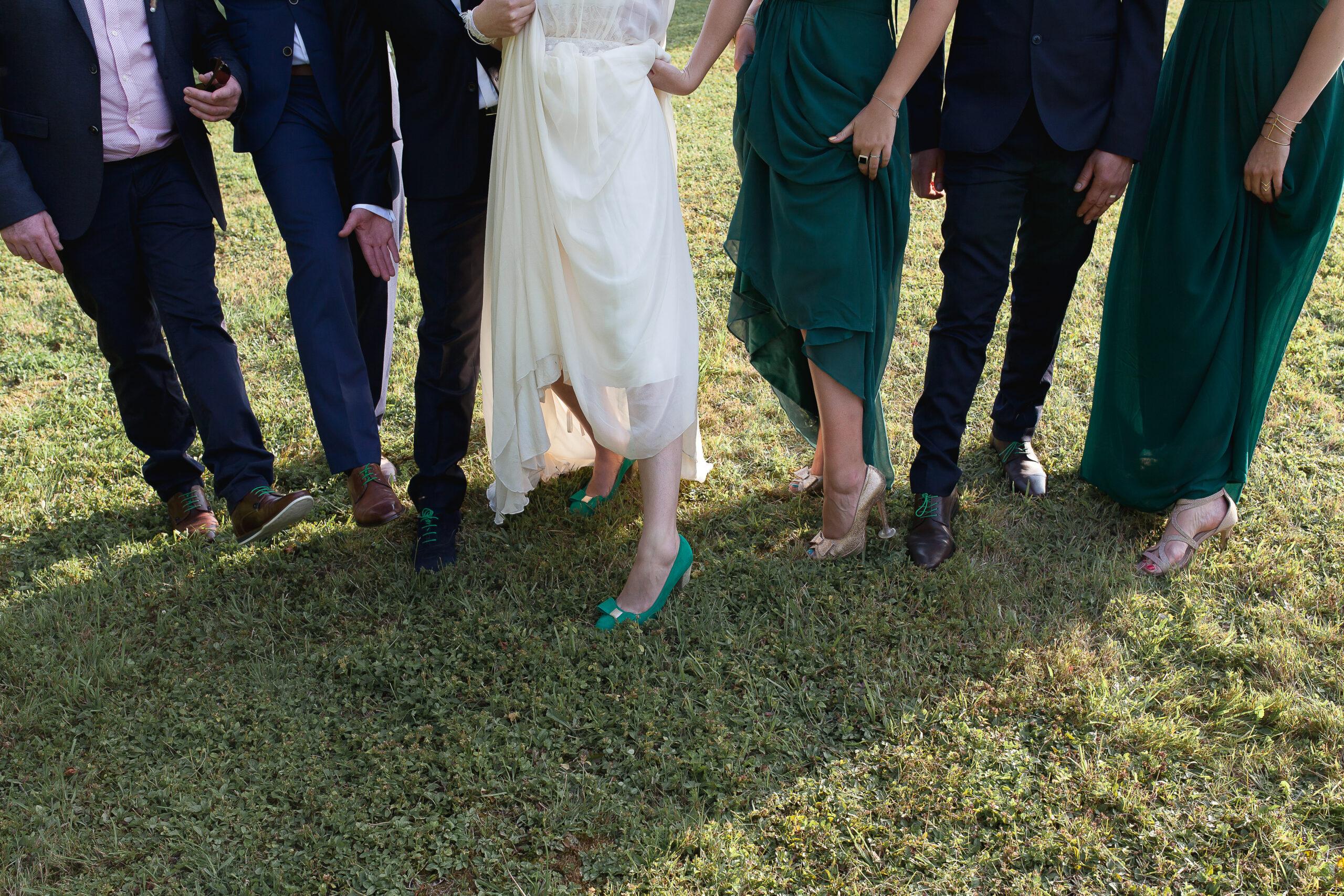 D Day Wedding Planner La Rochelle Wedding Planner Charente-Maritime Chaussures de mariée chaussure de mariage wedding shoes shoes addict sequin strass paillettes argenté fleurs de mariage mariée marié or dorée talons hauts organisation de mariage